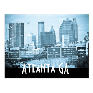 ATLANTA GA POST CARDS