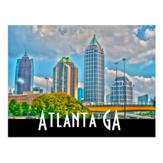 Atlanta GA Postcard