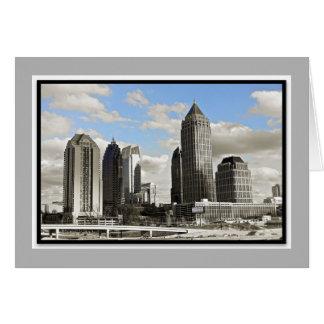 Atlanta, GA Skyline Card