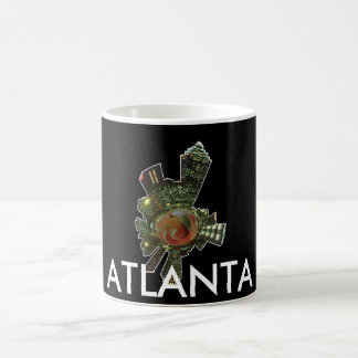 Atlanta GA Taza Básica Blanca