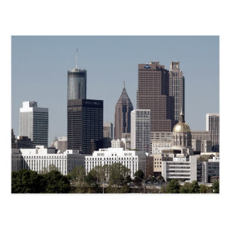 Atlanta Geogia Postcard