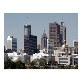 Atlanta Geogia Tarjeta Postal