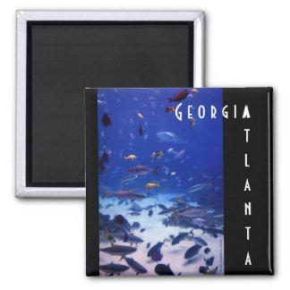 Atlanta Georgia 2 Inch Square Magnet