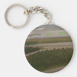 Atlanta, Georgia Airport From Above Keychains