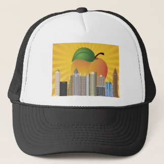 Atlanta Georgia and Peach Hat