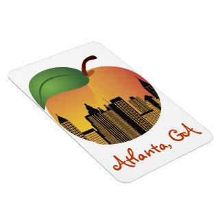 Atlanta Georgia and Peach Magnet