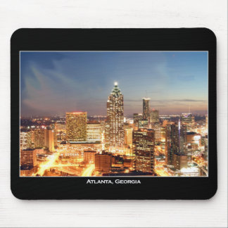Atlanta, Georgia at Night - Beautiful Skyline Mouse Pad
