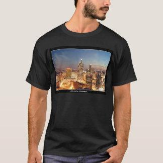 Atlanta, Georgia at Night - Beautiful Skyline T-Shirt