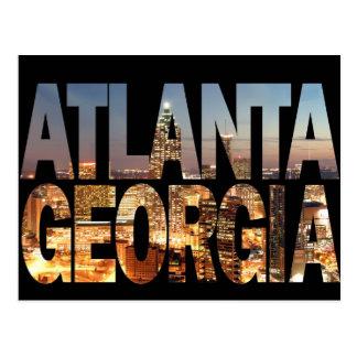 Atlanta Georgia at Twilight Post Card