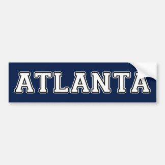 Atlanta Georgia Bumper Sticker