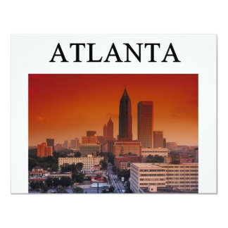 ATLANTA georgia Card