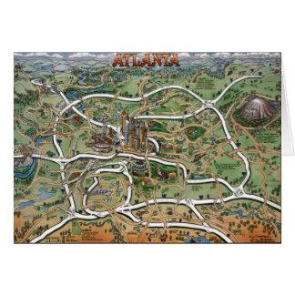 Atlanta Georgia Card
