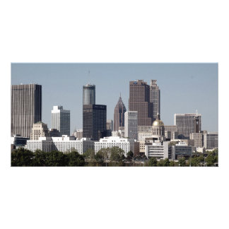 Atlanta Georgia Cityscape photo card