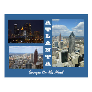 Atlanta, Georgia Cityscape Postcard