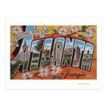 Atlanta, Georgia - escenas grandes 2 de la letra Tarjeta Postal