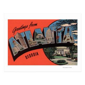 Atlanta, Georgia - escenas grandes de la letra Postal