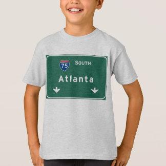 Atlanta Georgia ga Interstate Highway Freeway : T-Shirt