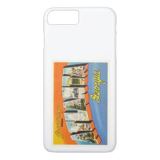 Atlanta Georgia GA Old Vintage Travel Postcard- iPhone 8 Plus/7 Plus Case
