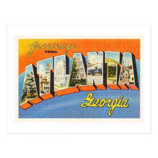 Atlanta Georgia GA Old Vintage Travel Postcard- Postcard