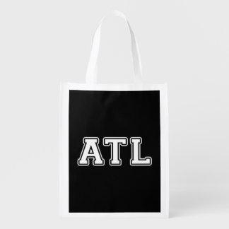 Atlanta Georgia Grocery Bag
