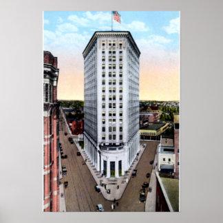 Atlanta Georgia Hurt Building 1915 Poster