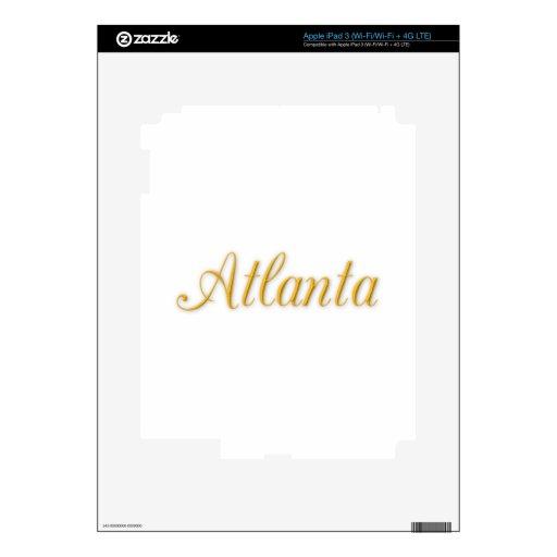 Atlanta Georgia iPad 3 Skins