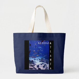 Atlanta Georgia Large Tote Bag