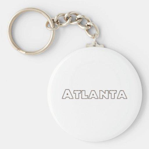 Atlanta Georgia Llavero