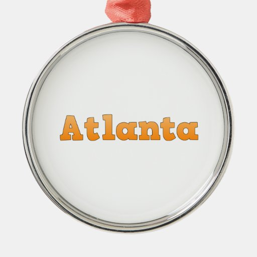Atlanta Georgia Ornamento Para Reyes Magos