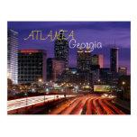 atlanta, georgia, postcard