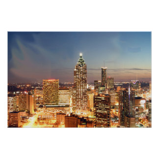 Atlanta Georgia Poster