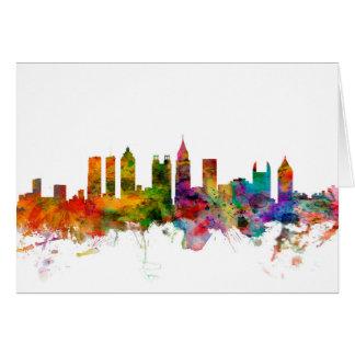Atlanta Georgia Skyline Card