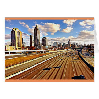 Atlanta, Georgia Skyline Card