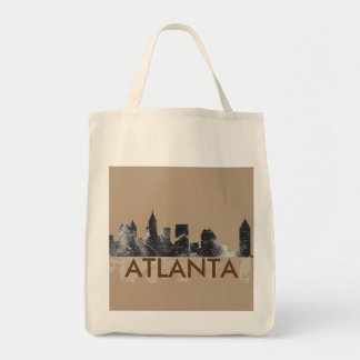 ATLANTA GEORGIA SKYLINE - Grocery Bag