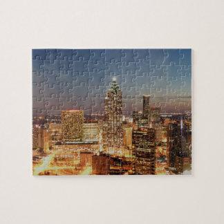 Atlanta Georgia Skyline Jigsaw Puzzle