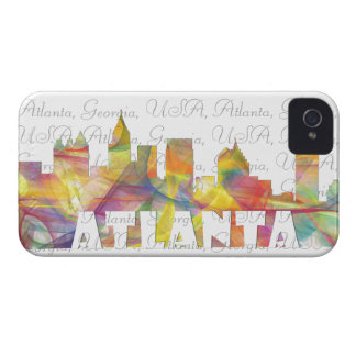 ATLANTA GEORGIA SKYLINE MCLR 2 - iPhone 4 COVER