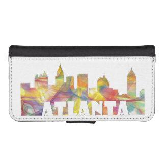 ATLANTA GEORGIA SKYLINE MCLR 2 - iPhone SE/5/5s WALLET