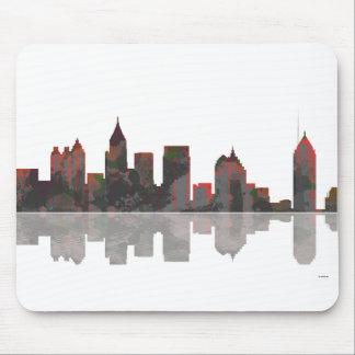 Atlanta Georgia Skyline Mouse Pad