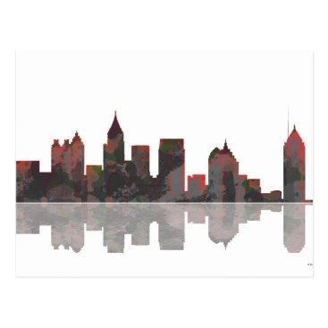 Atlanta Georgia Skyline Postcard