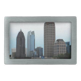 Atlanta, Georgia skyline Rectangular Belt Buckle