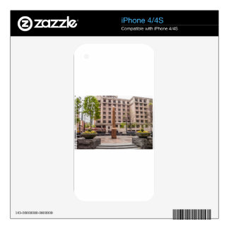 Atlanta Georgia statue iPhone 4 Skins