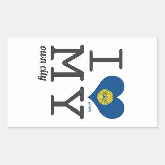 Atlanta | Georgia Rectangular Sticker