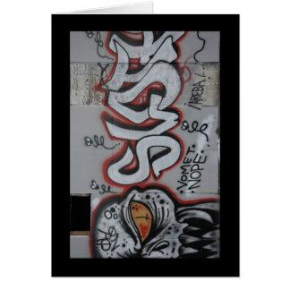 Atlanta Graffiti Card