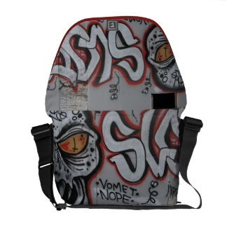 Atlanta Graffiti Messenger Bag