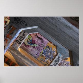 Atlanta Graffiti Poster