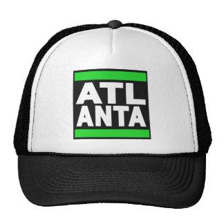 Atlanta Green Mesh Hat