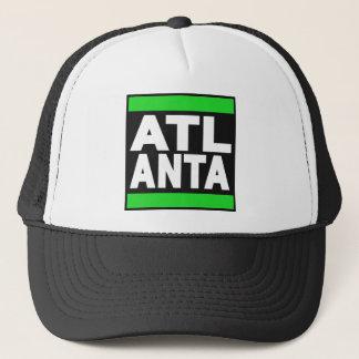 Atlanta Green Trucker Hat