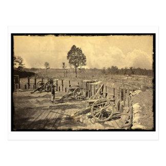 Atlanta, guerra civil del GA los E.E.U.U. Tarjetas Postales