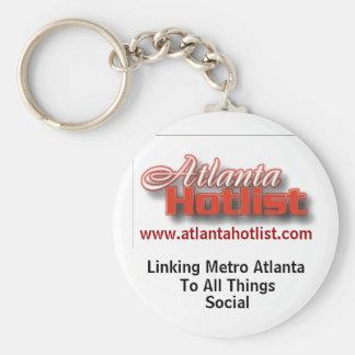 Atlanta Hotlist Keychain