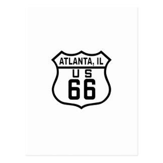 Atlanta, Illinois Route 66 Post Cards